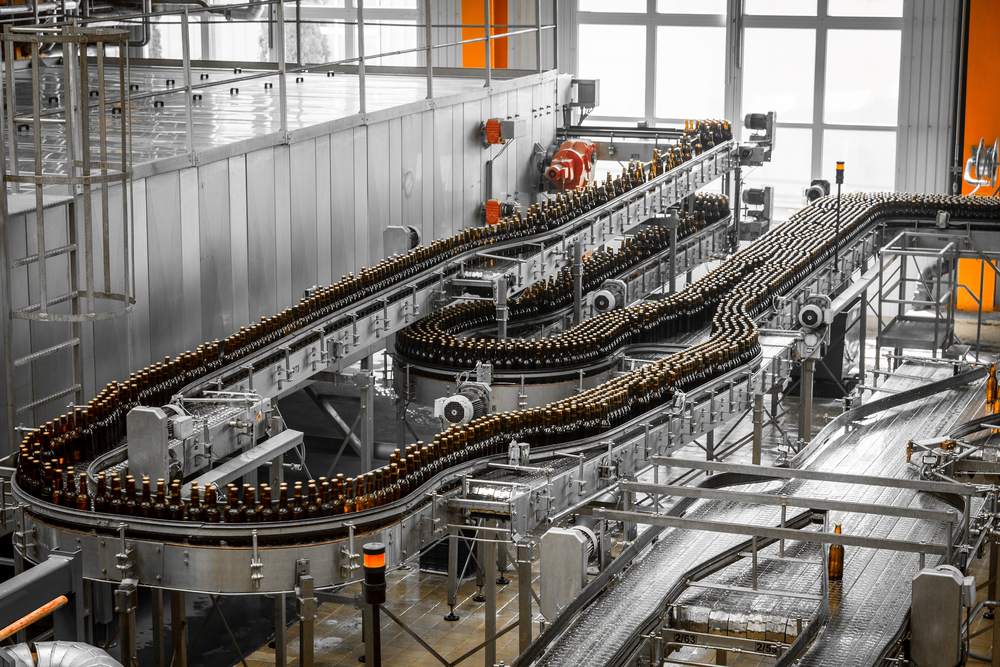 Spare parts for the bottling industry